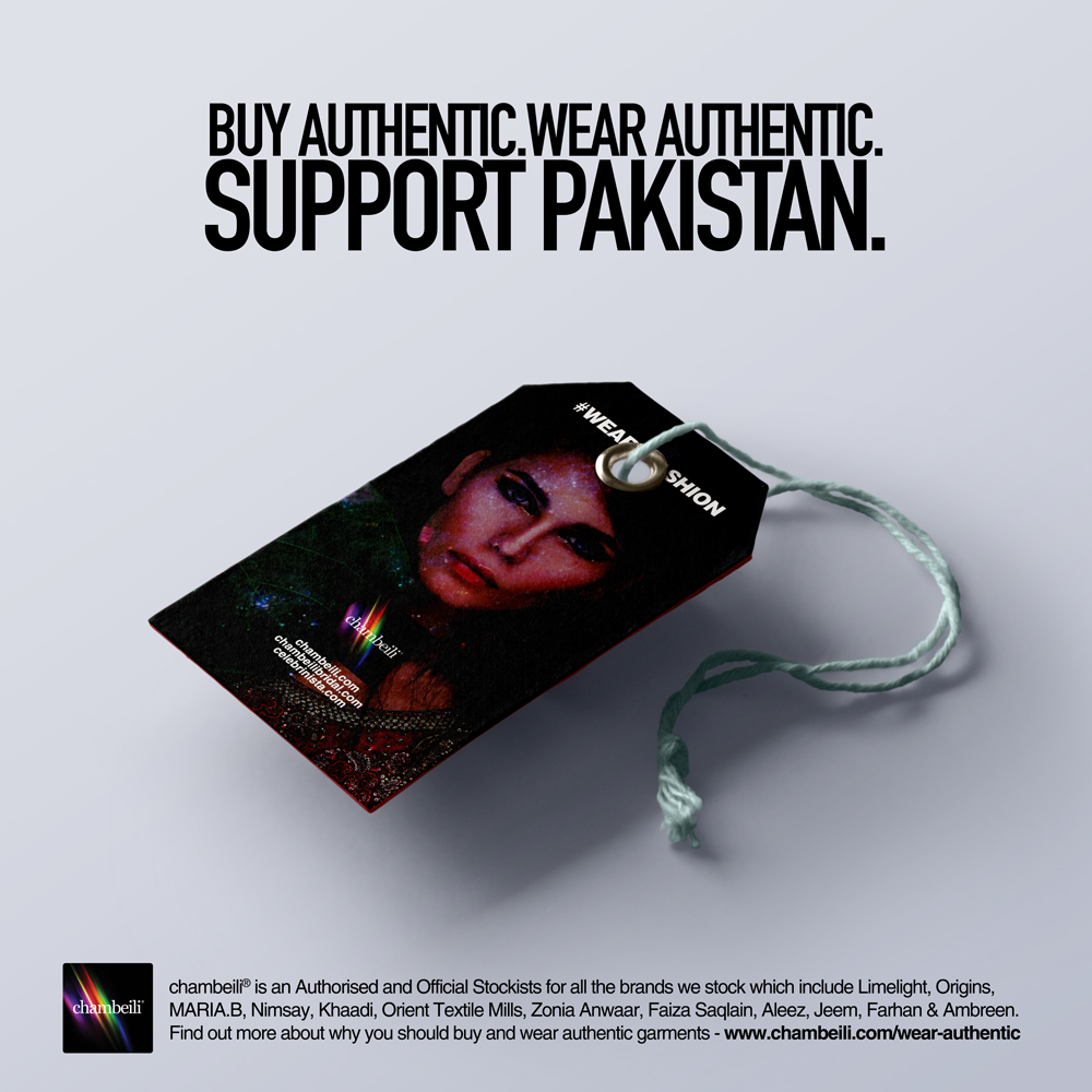 BUY AUTHENTIC.WEAR AUTHENTIC