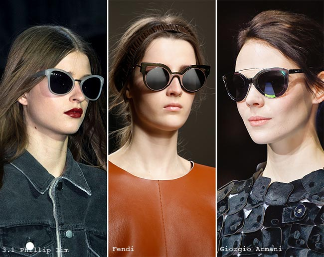 Modern Cat Eye Sunglasses AW15